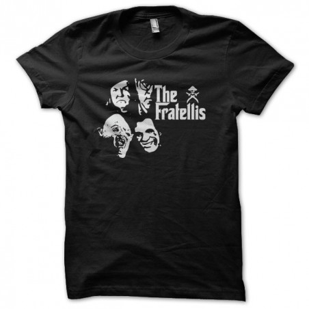 Original T-shirt The Goonies The Fratellis Parody The Godfather Black Sublimation