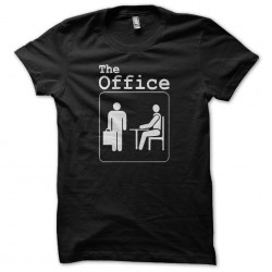 Tee shirt avec pictogramme sur la série TV américaine The Office  sublimation