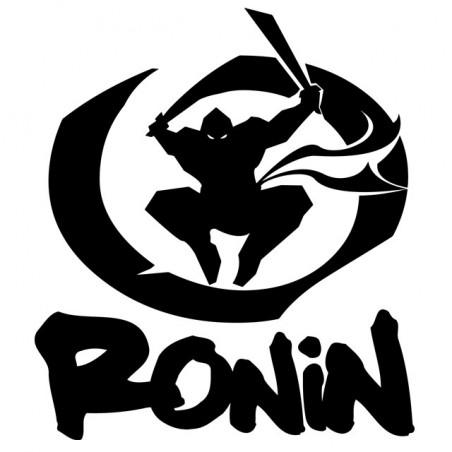Ronin white ninja black sublimation t-shirt