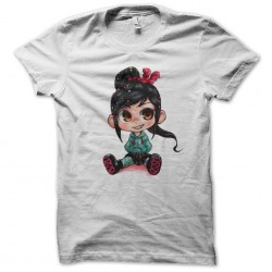 Vanellope white t-shirt is in love sublimation
