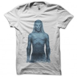 White walkers t-shirt Games of thrones White iron sublimation trone