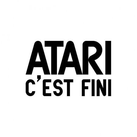 Atari T-shirt is finished white sublimation