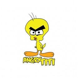 T-shirt Angry Titi parody...
