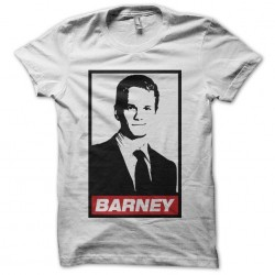 Tee shirt Barney parodie Obey How I Met Your Mother  sublimation