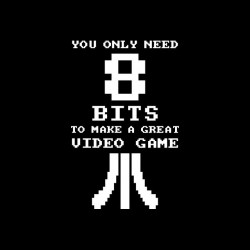 Tee shirt Great Video Game need 8 bits  sublimation