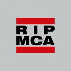 Tee shirt RIP MCA Beastie Boys tribute RUN DMC gris sublimation