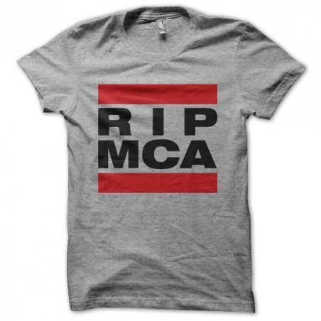 T-shirt RIP MCA Beastie Boys Tribute RUN DMC Gray Sublimation