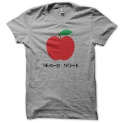 Tee shirt Death Note pomme...