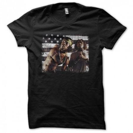 Outkast flag vintage black sublimation t-shirt