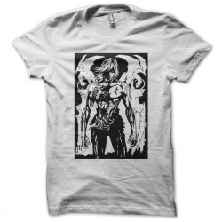 Knife t-shirt number 13 in black and white sublimation