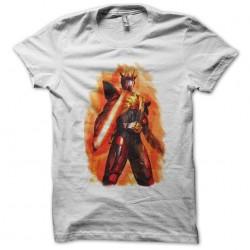 Mask rider t-shirt with Hibiki white sublimation