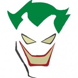 Joker comics white...