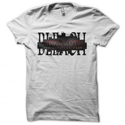 Blach Hollow white sublimation t-shirt