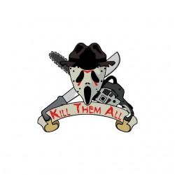 Tee shirt Kill Them All...