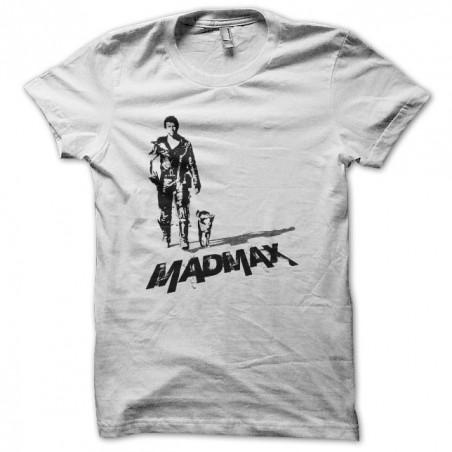 T-shirt Mad Max dog walk artwork white sublimation