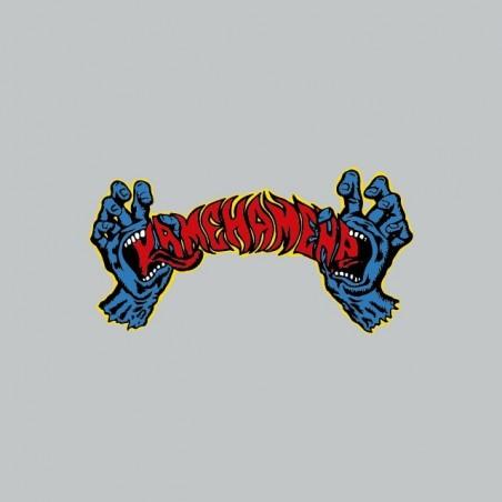 T-shirt Rob Roskopp parody Dragonball Kamehameha gray sublimation
