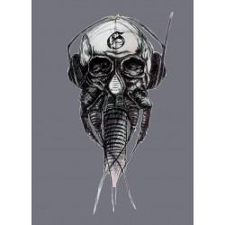 Tee shirt Skull effet...