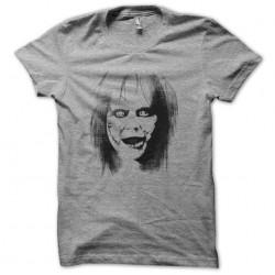The exorcist portrait halftone artwork gray sublimation