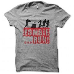 Tee shirt Zombie Run les...