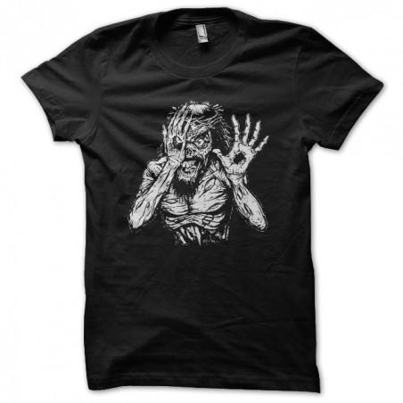 Jesus t-shirt is a black zombie sublimation