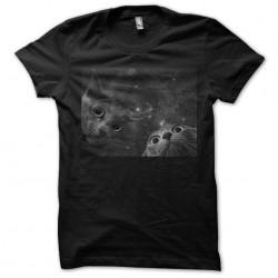 Tee shirt chats de espace,...