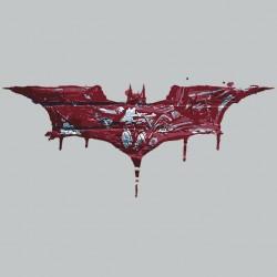 Special batman t-shirt logo juide artwork sublimation gray