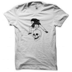 Miss kittin kris threat techno white sublimation t-shirt