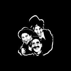 Marx Brothers t-shirt black...