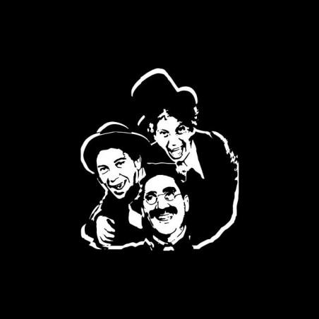 Marx Brothers t-shirt black sublimation