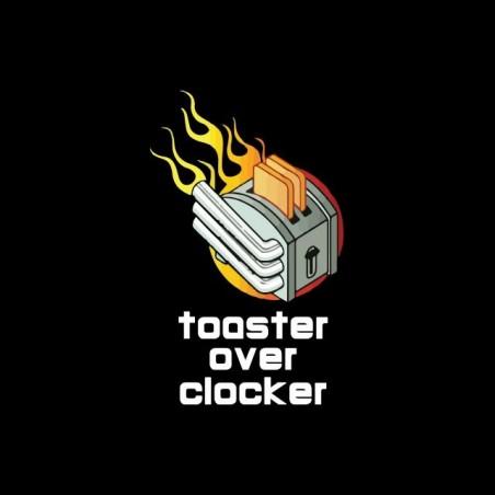 Toaster Overclocker black toast sublimation Toaster