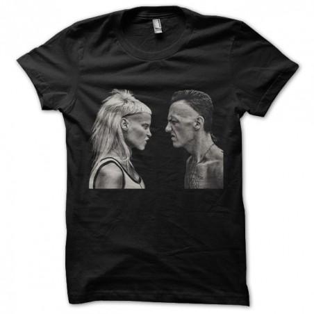 T-shirt die Antwoord Zef YoLandi screw version Ninja Black sublimation