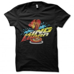King Cobra royal cobra t-shirt Black sublimation