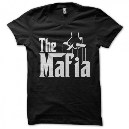 T-shirt Mafia the godfather in black sublimation