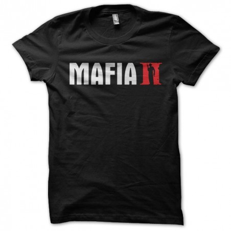 T-shirt of the game Mafia 2 in black sublimation