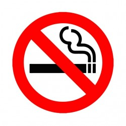 Tee shirt interdit de fumer...