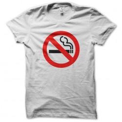 White smoke sublimation t-shirt