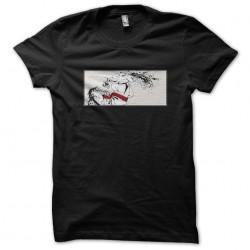 Sagat t-shirt game Street Fighter design Muay Thai black sublimation