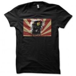Bob Marley t-shirt on...