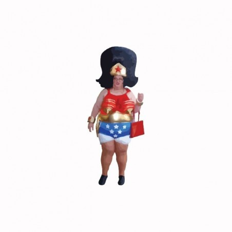 Tee shirt Wonder Woman parodie mamie  sublimation