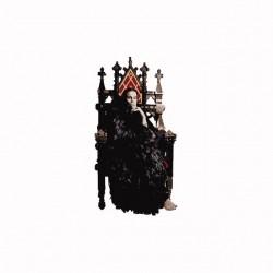 Ozzy Osbourne throne white...