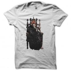 Ozzy Osbourne throne white sublimation t-shirt