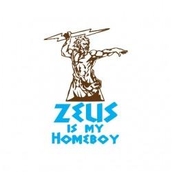 Tee shirt Zeus est ma bonne à tout faire  sublimation