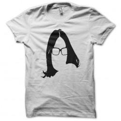 T-shirt Nana Mouskouri parody Steve Aoki's shirt white sublimation