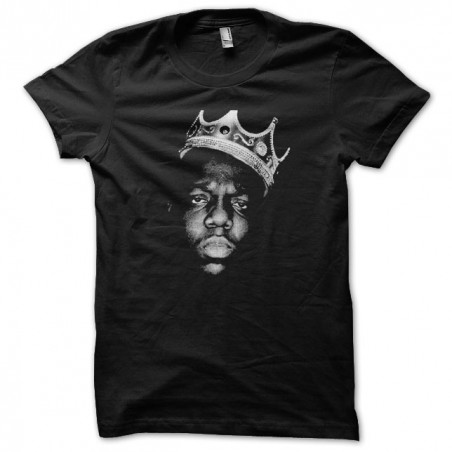 The Notorious Big Crown black sublimation t-shirt