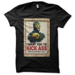 T-shirt Kick Ass parody...