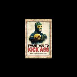 T-shirt Kick Ass parody Uncle Sam black sublimation