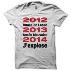 Tee shirt 2012 Année de...