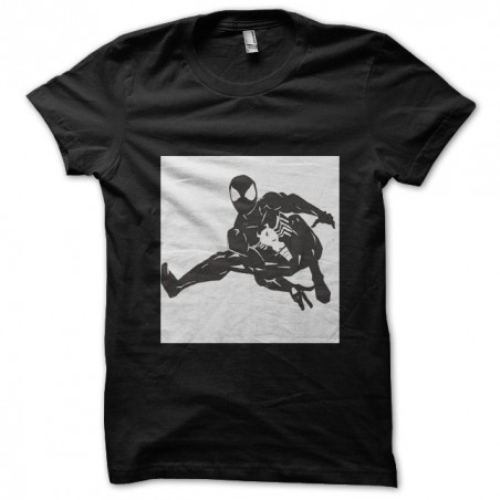 t-shirt symbiote of black spiderman sublimation