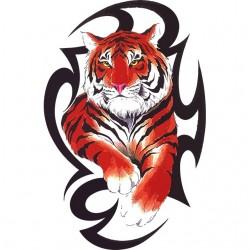 Tee shirt Tatouage de tigre asiatique  sublimation