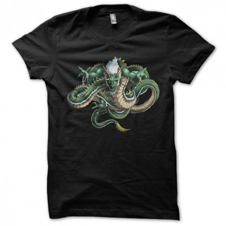 T-shirt Tattoo of the great black dragon sublimation